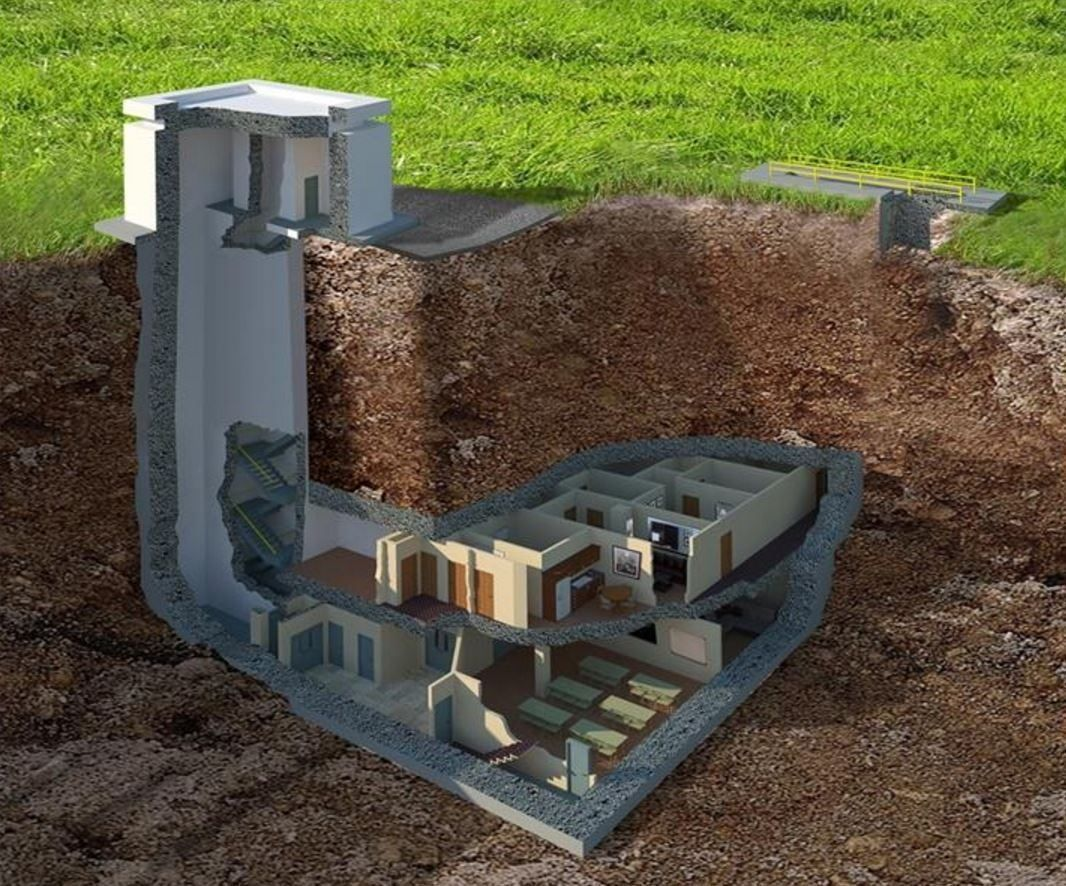A nuclear bunker just went up for sale near me