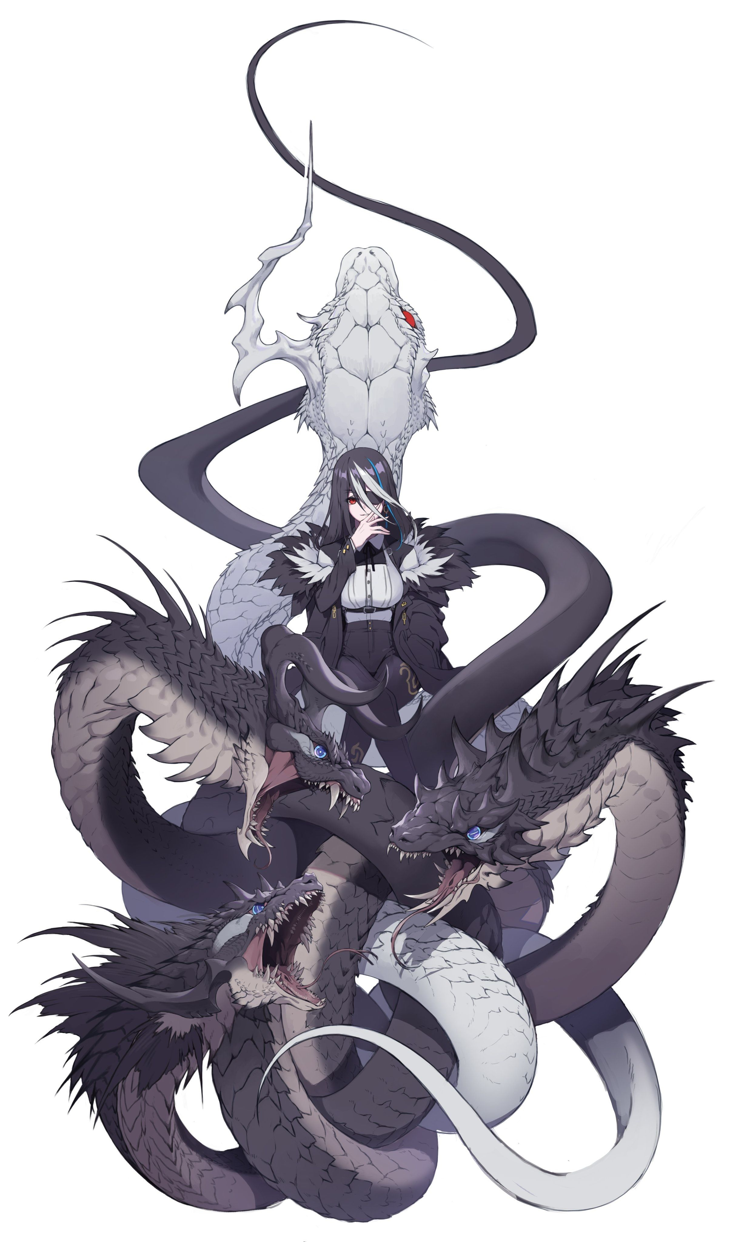 Mestra Do Ouroboros In 2020 Anime Character Design Concept Art Characters Fantasy Character Design