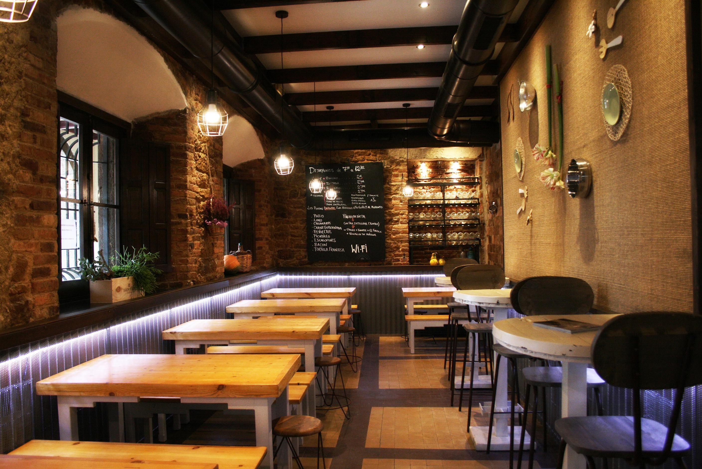 Cafeteria bar restaurante contemporaneo contract via for Estilo moderno contemporaneo