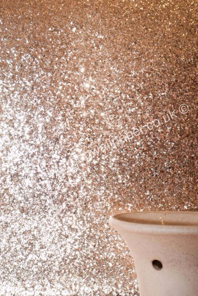 Glitter wallpaper available via our website follow us on facebook - Wandfarbe gold glitter ...