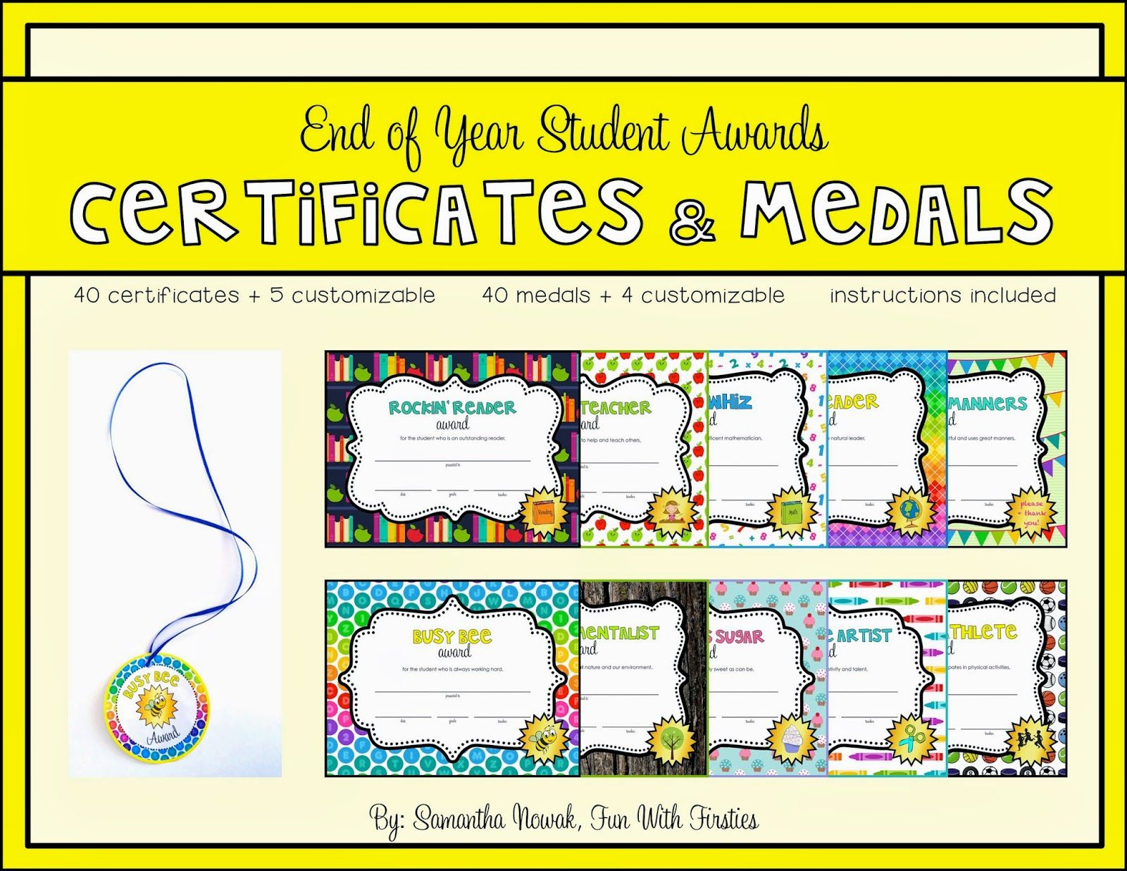Fun With Firsties Our Probability Unit Worksheets Activities Lessons And Assessment Student Awards Student Encouragement End Of Year [ 1236 x 1600 Pixel ]