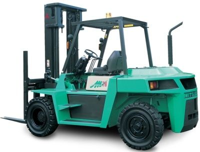 Original Illustrated Factory Workshop Service Manual For Mitsubishi Diesel Forklift Truck Fd Series Original Factory Manuals For Mitsubishi Lift Trucks Contains