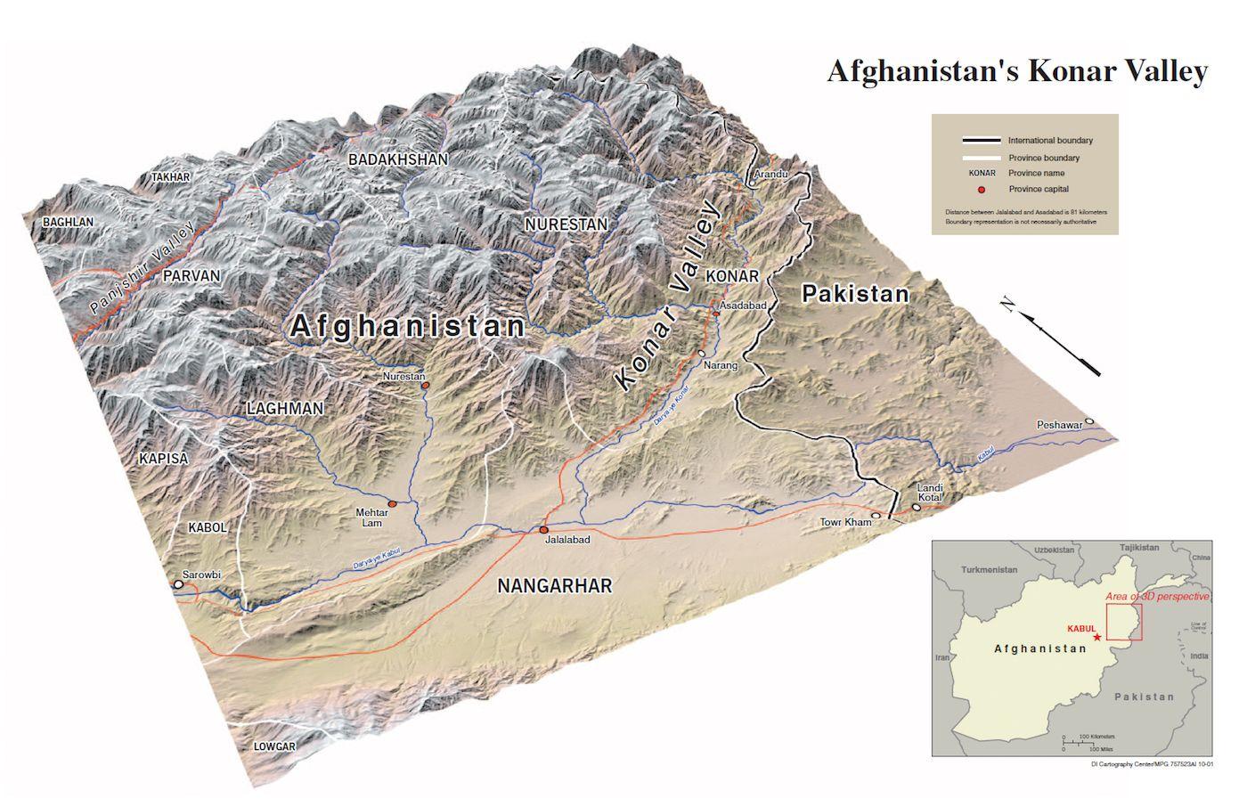 CIA Cartography Center maps