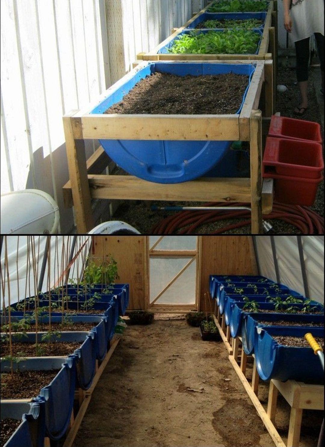 Easy Diy Wooden Raised Planter 50 Avec Images Deco Jardin Palettes Amenagement Jardin Idees Jardin