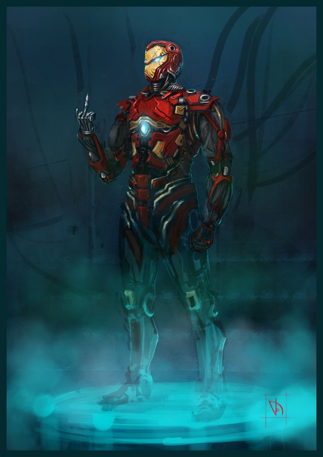 Ironman by ~Trufanov on deviantART