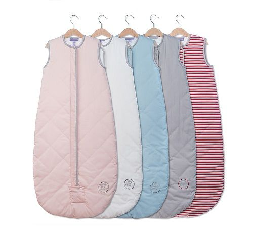 NEW Save Our Sleep, Safe Baby Sleep Bag 'Pink with Platinum Binding' Travel 0.5, 1 TOG or 2.5 TOG - Save Our Sleep® Official Online Shop