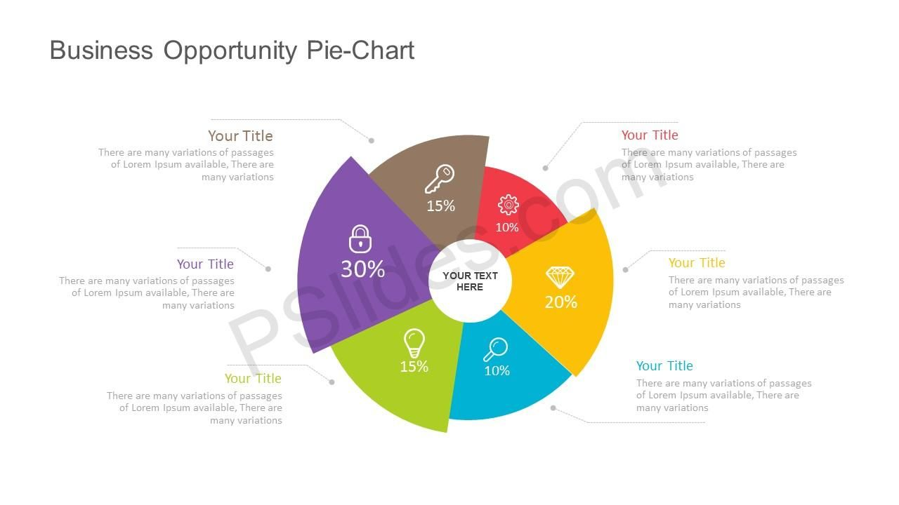 Free Business Opportunity Pie Chart For Powerpoint Pie Chart