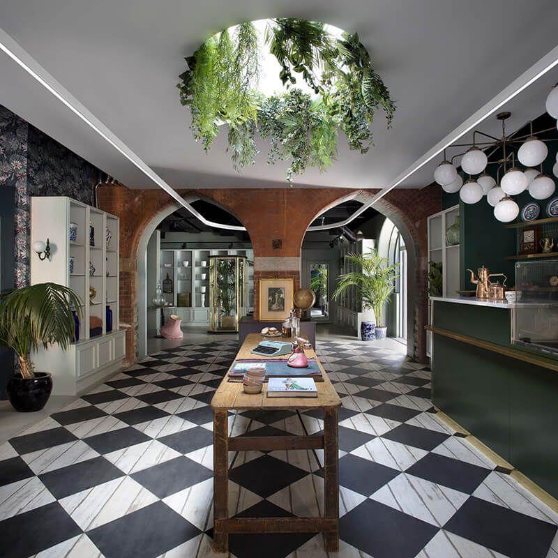the vaults kingston lafferty design World of interiors