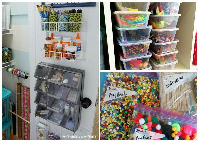 Superior Craft Storage Ideas Small Spaces Homes Art Supplies