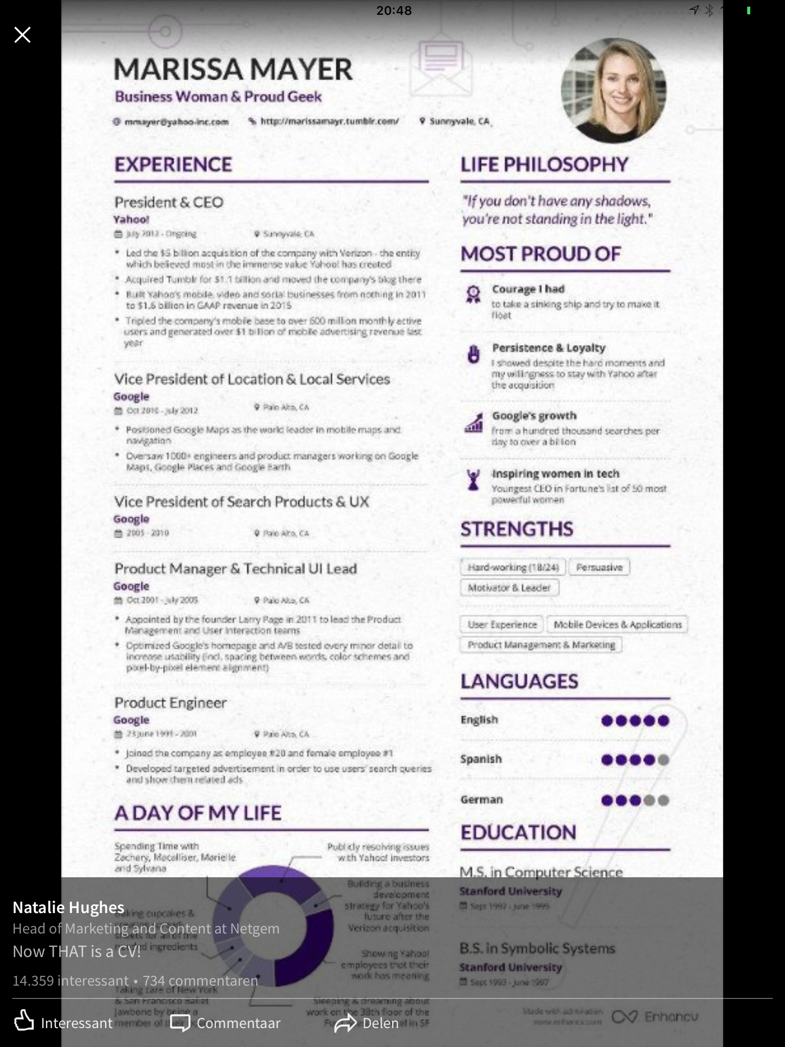 Ideale cv | Werk | Pinterest