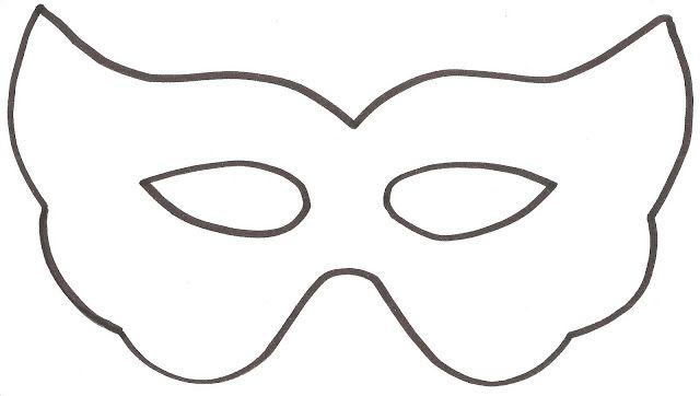 Desenhos De Mascara De Carnaval Para Imprimir Colorir Carnaval