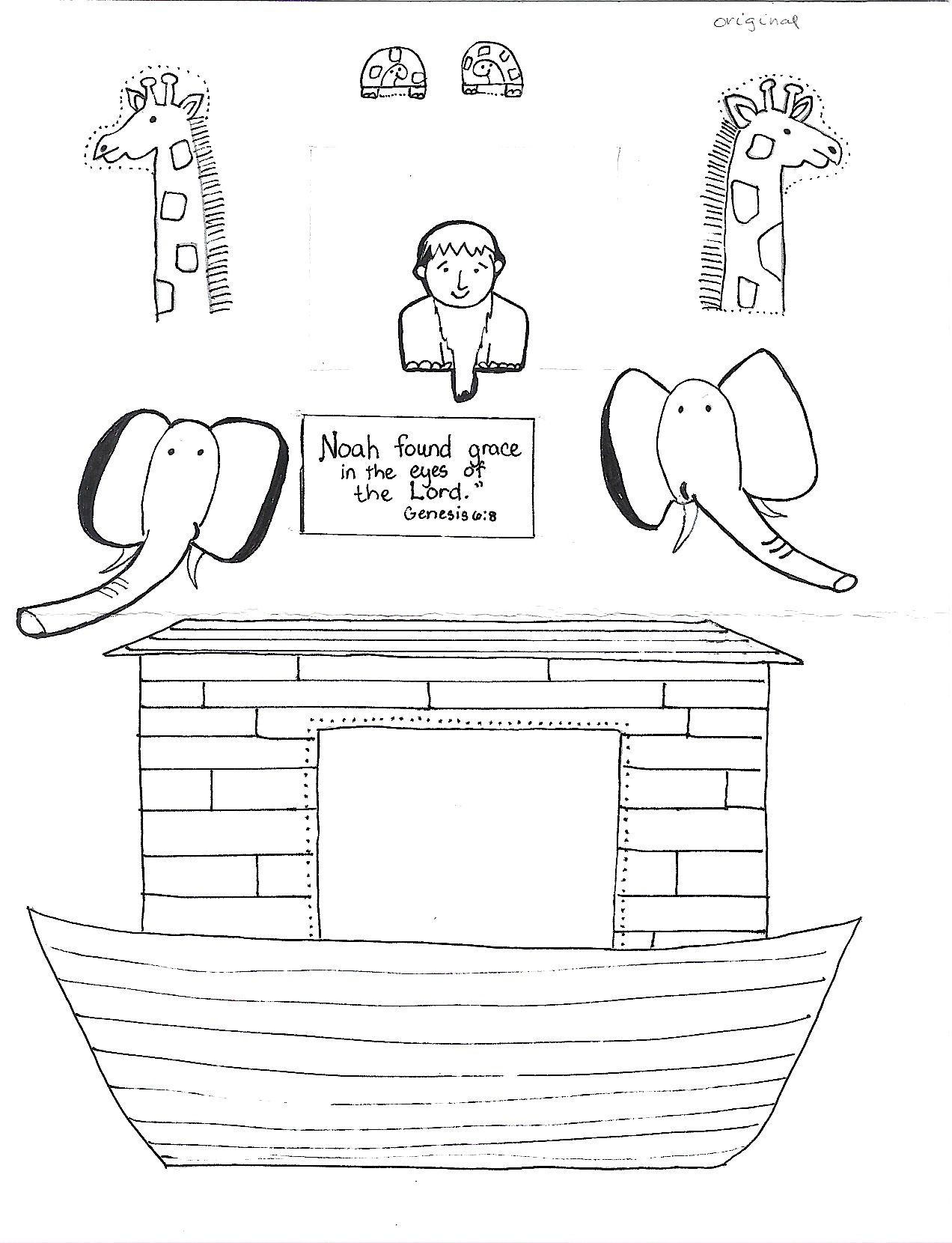 image about Free Printable Pictures of Noah's Ark identified as Noahs Ark No cost Coloring Web site Printable
