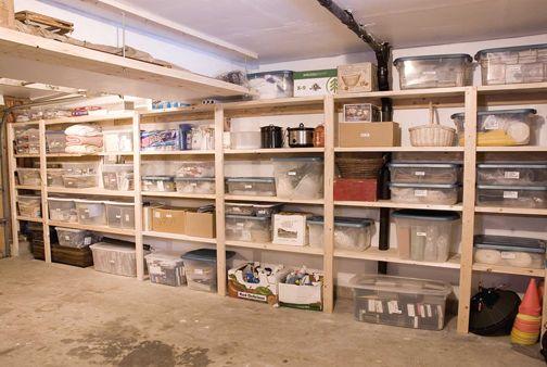 Simple Plywood Shelving For Basement Storage Phil Ljunghammar