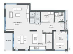 Kundenhaus Blum WeberHaus Haus grundriss, Haus planung