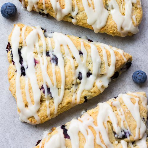 than Starbucks! These Vegan Blueberry Scones are the perfect sweet treat for brunch or breakfast, easy to make, too!