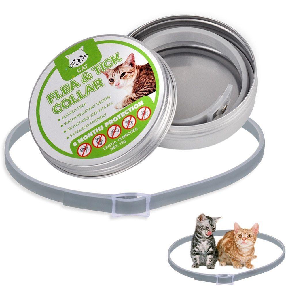 34CM Cat Collar Tick Flea Anti Insect Mosquitoes