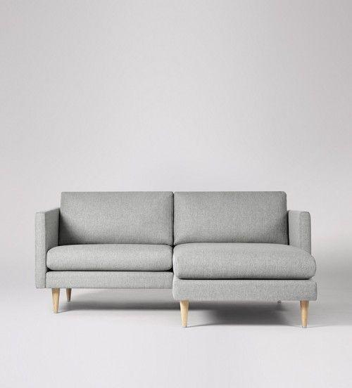 Tivoli Right-hand Small Corner Sofa | Swoon Editions | Small Corner Sofa, Corner Sofa, Small Sofa