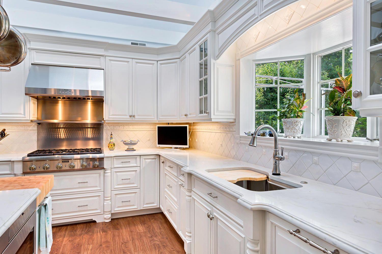 Luxury White Kitchen In Avon Small White Kitchens White Kitchen Design Kitchen Design