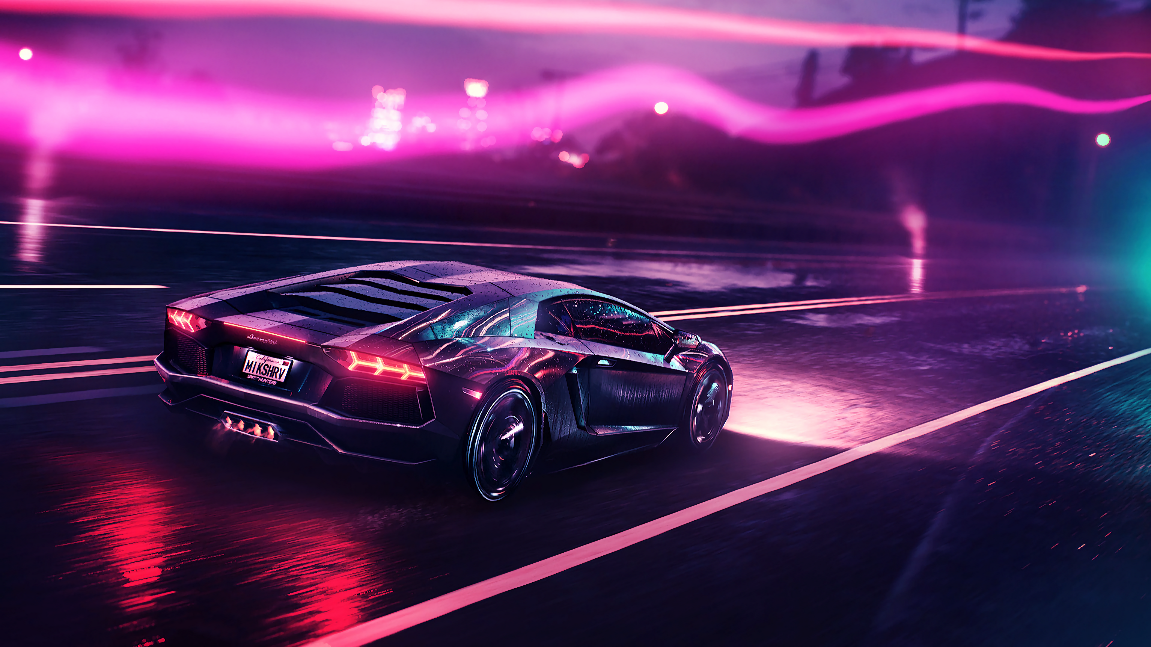newest submissions : outrun | Outrun in 2019 | Lamborghini ...