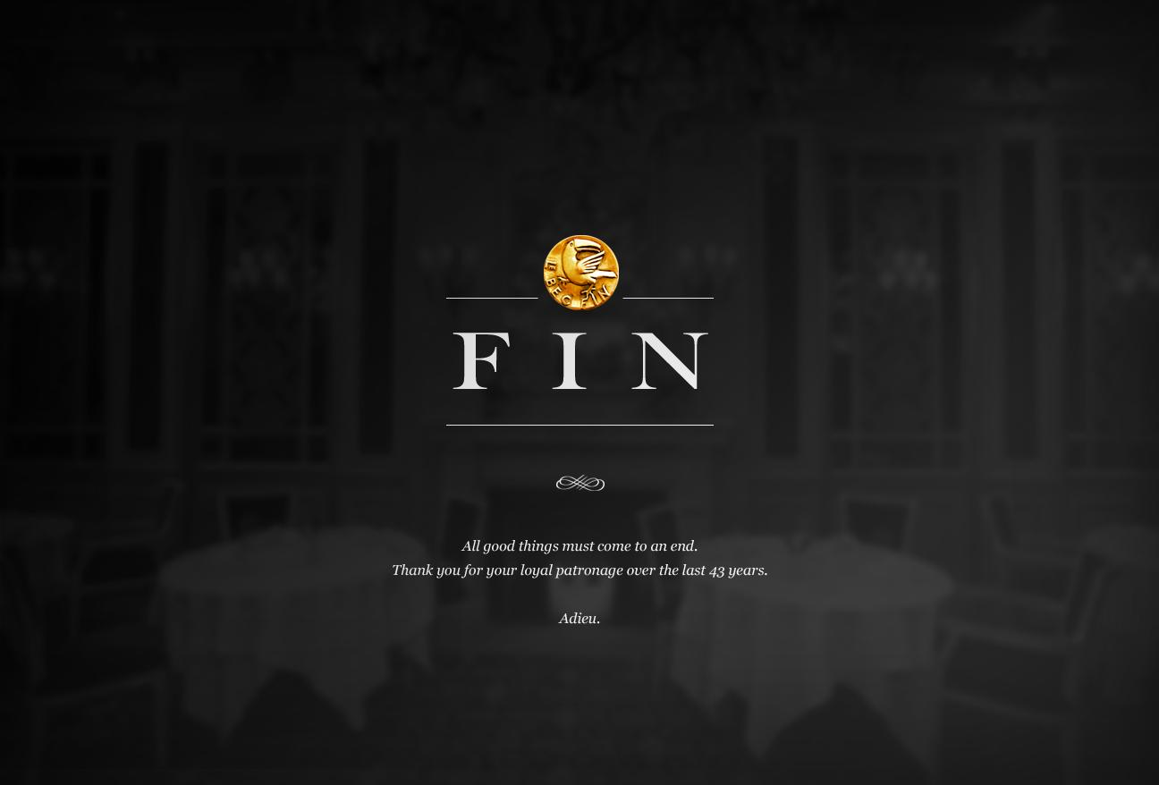 Le Bec-Fin | Fin