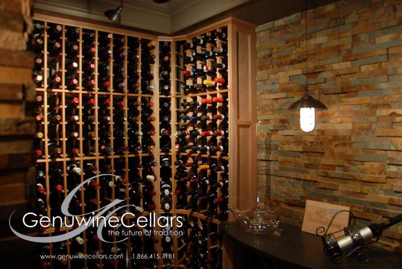 Cave A Vin Professionnelle Encastrable En Bois Sur Mesure