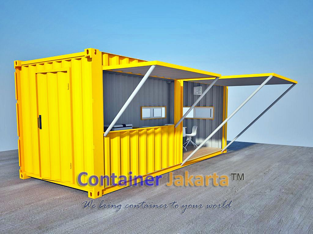 We Were Challenged To Design More Containers For Various Functions Such As The Following Pictures Th Container House Design Container Restaurant Container Shop
