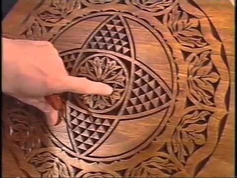 ▷chip carving wayne barton american woodshop youtube