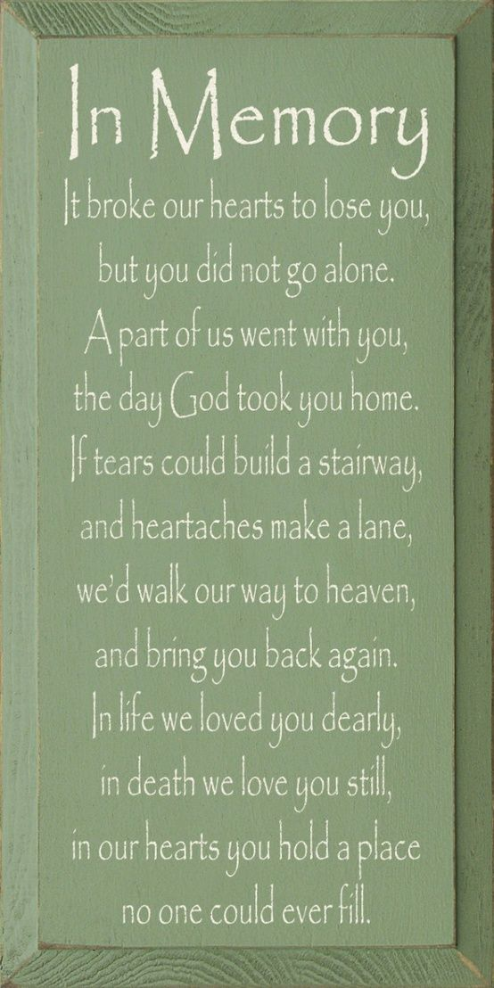 Nice In Loving Memory Sayings | In Loving Memory Dad Quotes Image Search Results