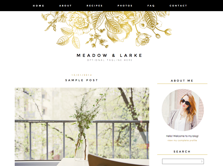 awesome blogger templates 15 photography pinterest template