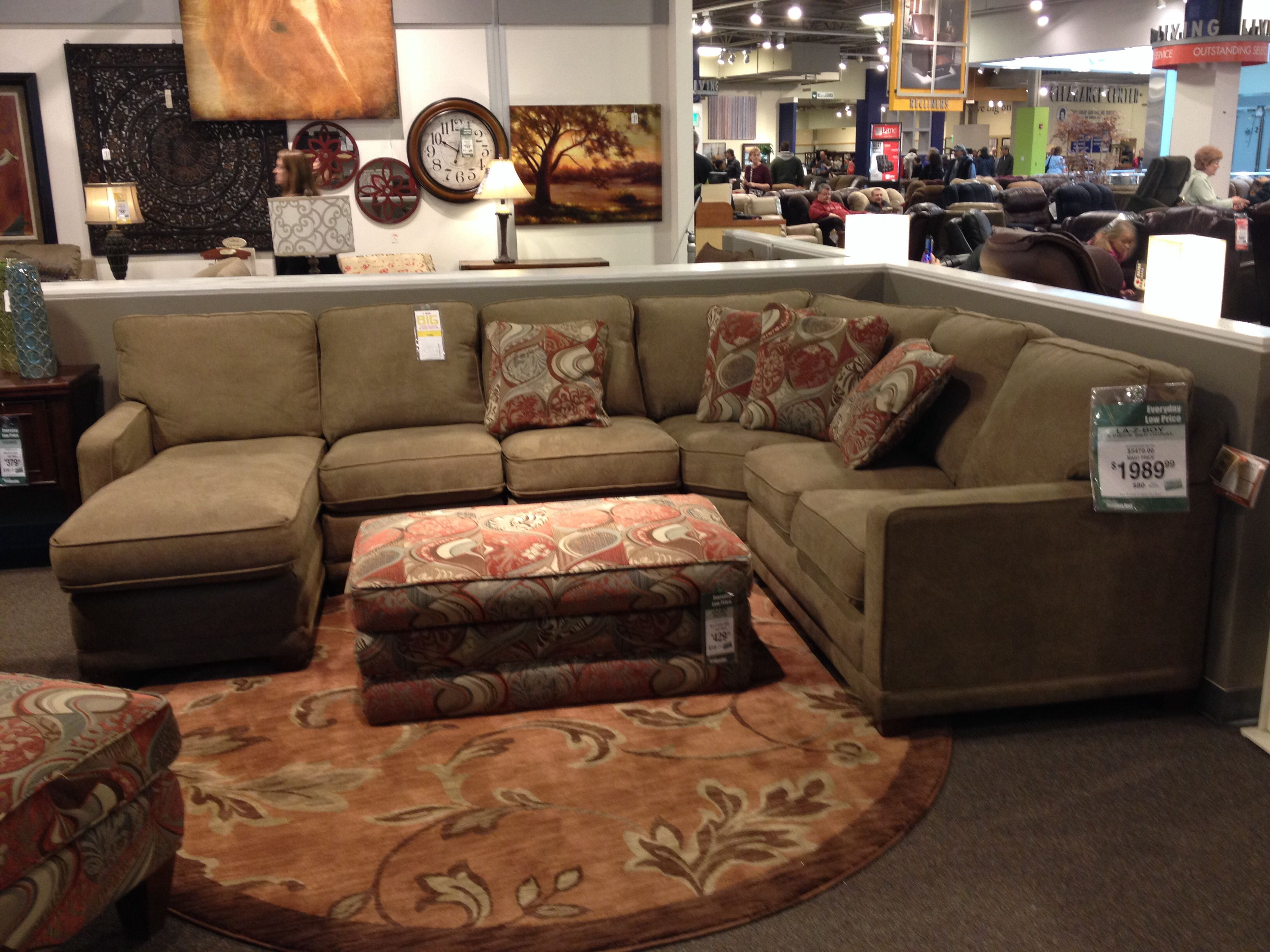 Lazy Boy Sectional For Basement Basement Ideas