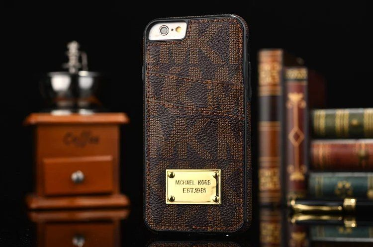 porte carte michael kors Coque cuir élégante Michael Kors porte carte iPhone 6s 6s plus