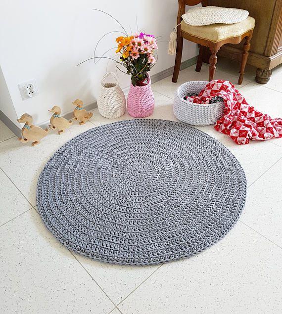 Mato Filzkugel Teppich Von Kibek In Grau 140 X 140 Cm Aus Wolle