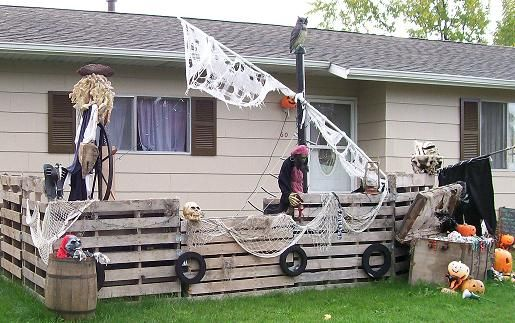 halloween 2017 - Pirate Halloween Decorations