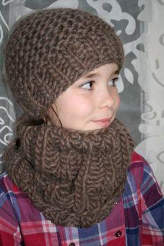 tricoter un bonnet 8 ans