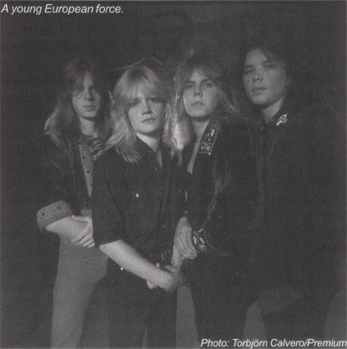 Wings of Tomorrow | young heroes | Europe band, Joey tempest, Europe