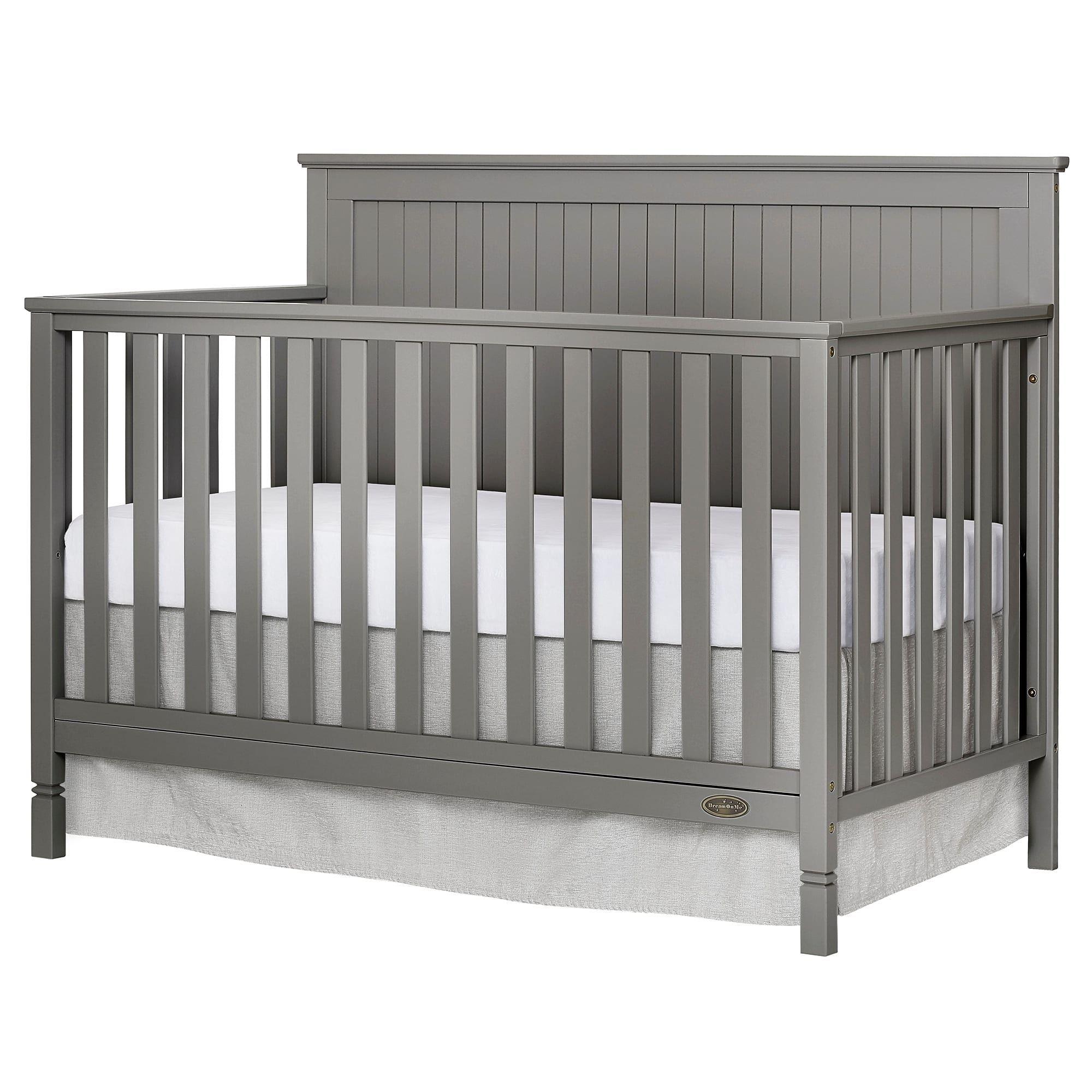 Dream On Me Alexa 5 in 1 Convertible crib, Gray ...