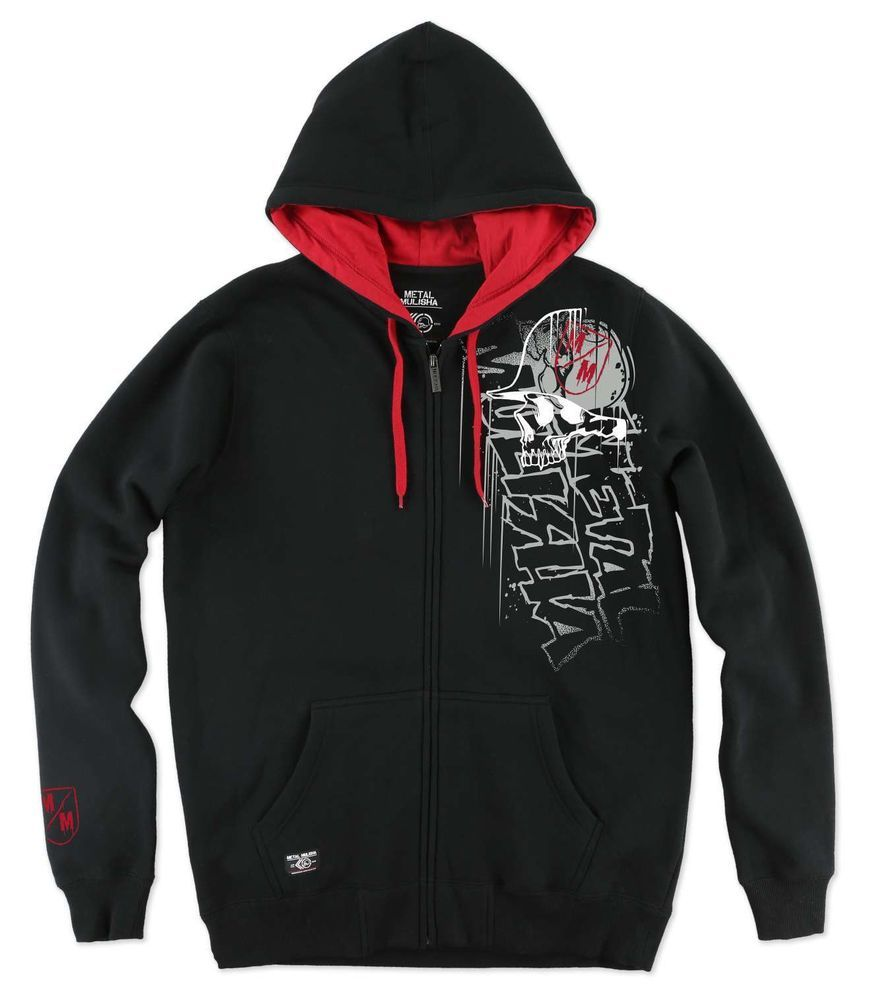 Metal Mulisha Mens Tailgate Zip Up Sweatshirt