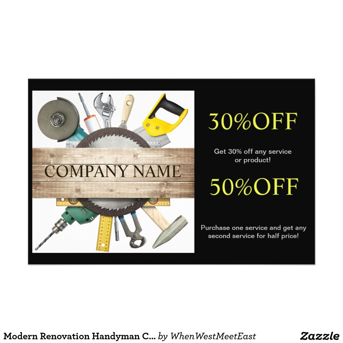 best handyman flyer templates designs web resources modern renovation handyman carpentry construction flyer design