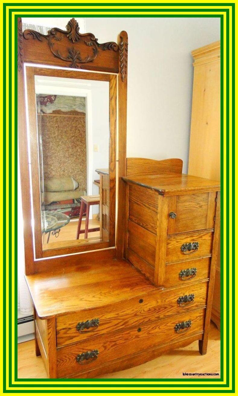 50 reference of antique mirror vanity dresser in 2020