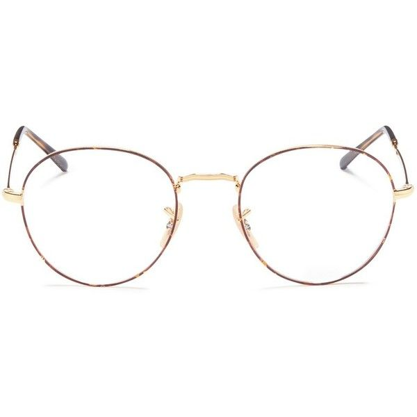 Ray-Ban  RB3582V  tortoiseshell rim metal round optical glasses (€125) 49eaee2a3c