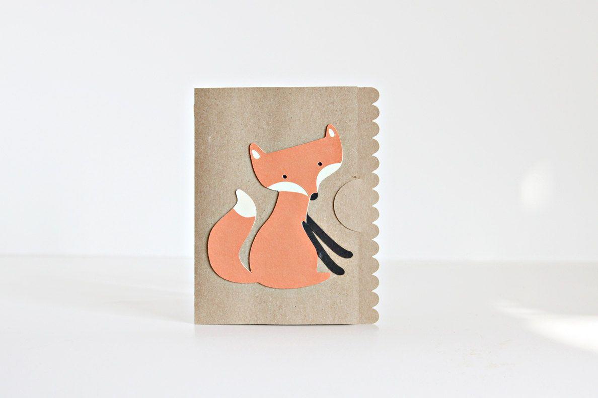 Fox Card, Set of 5