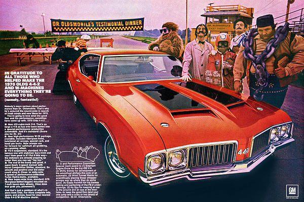 1970 Oldsmobile Cutlass 4 4 2 By Digital Repro Depot Oldsmobile 442 Oldsmobile Muscle Car Ads