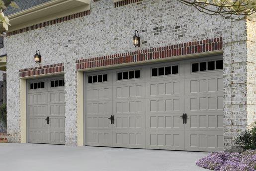 Carriage House Garage Doors Steel Or Wood Sears Garage Doors Garage Door Design Overhead Garage Door