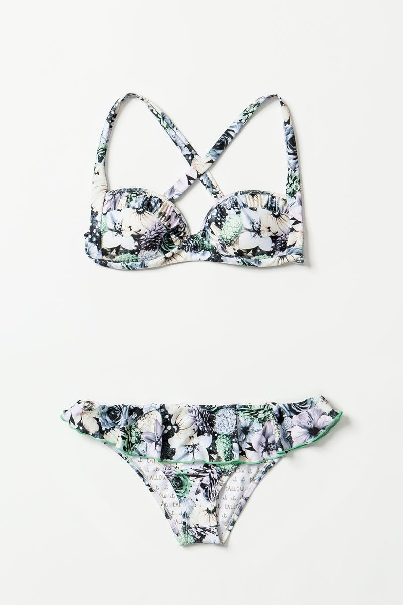 Try out the floral trend on a swimsuit!