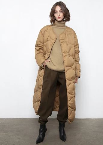 Outerwear – The Frankie Shop | Puffy coat, Long puffy coat