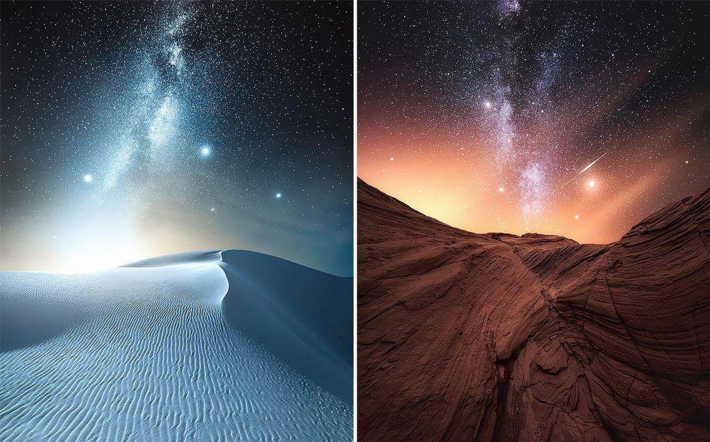 Le Sternenhimmel beeindruckende sternenhimmel jaxson pohlman photography