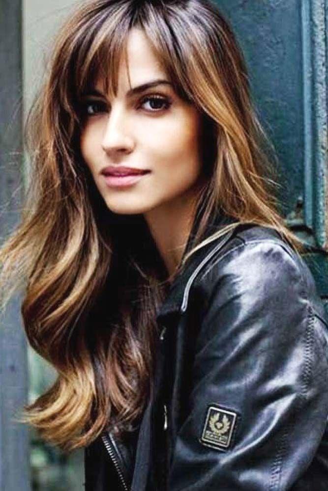 10 Astonishing Layered Haircuts With Bangs Nice And Trendy Hair Styles Long Hair Styles Long Hair With Bangs