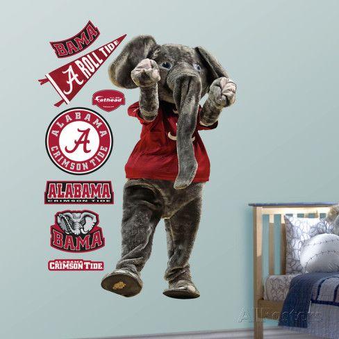 Alabama Big Al Wall Decal Allposters Com Alabama Alabama Crimson Tide Crimson Tide