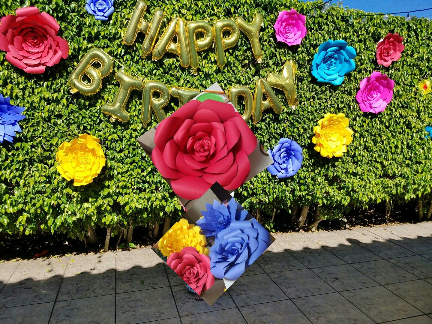 Paper flowers birthday party june 2017 party duzell decorations paper flowers birthday party june 2017 izmirmasajfo
