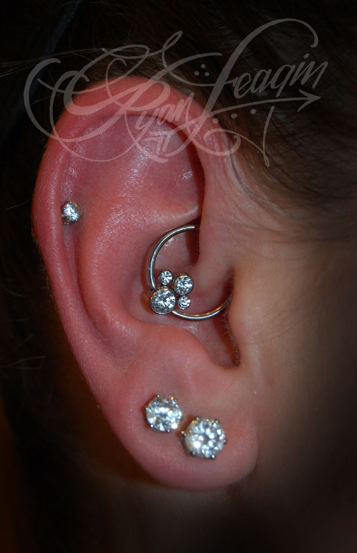Earring piercing ideas  Pin by Katie on PiercingsStretched Ears  Pinterest  Piercings